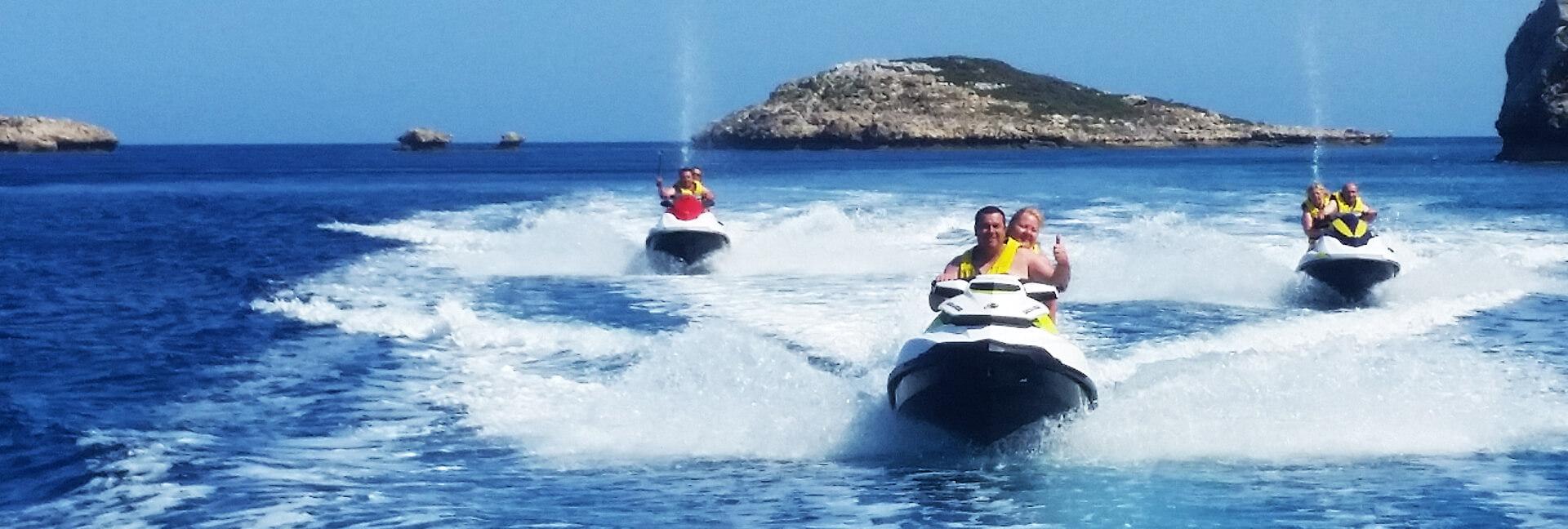 Safari Jet Ski - Rodos Water Sports Action